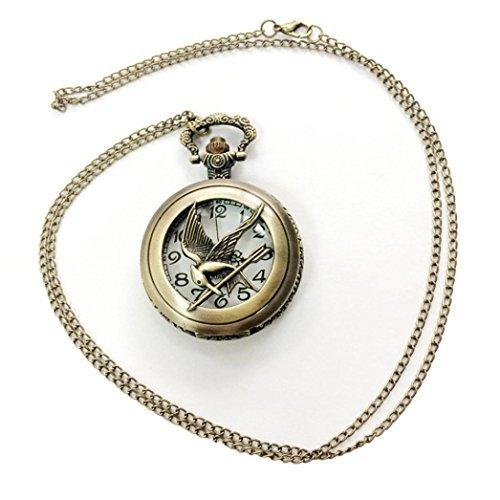 Watch Chain;START Nostalgia Bird Shape Watches Pocket Watch