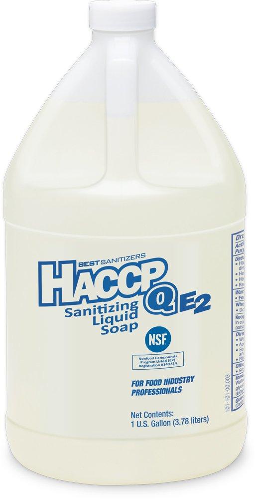 Best Sanitizers SO10003 HACCP Q E2 Sanitizing Liquid Soap, 1 gal