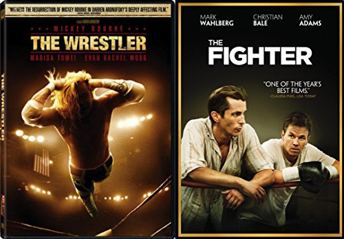 The Fighter & The Wrestler DVD 2 Pack Sport Drama Movie Action Set