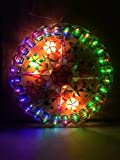 White Tala Lantern Parol Christmas Wreath