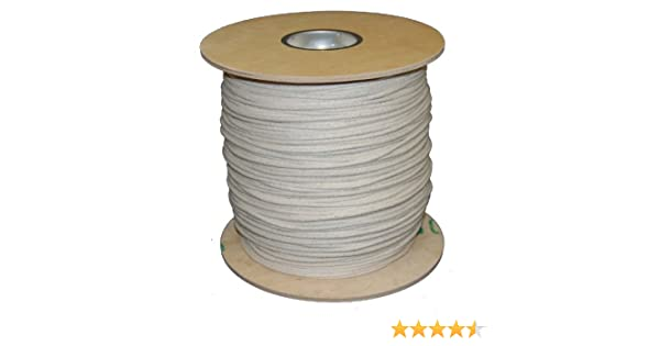 T.W Evans Cordage 46-097 Number-9 9//32-Inch Buffalo Cotton Sash Cord 1200-Feet Spool T.W Evans Cordage Co.