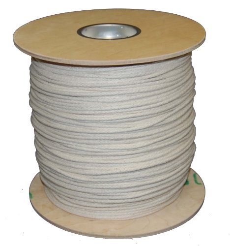 T.W Evans Cordage 46-087 Number-8 14-Inch Buffalo Cotton Sash Cord 1200-Feet Spool