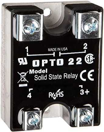 opto 22 480d15 12 dc control solid state relay transient proof 480 vac