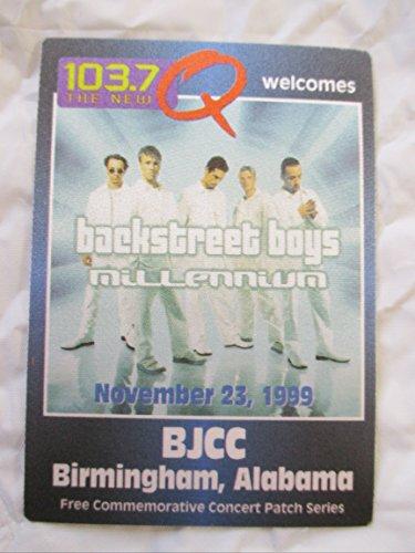 1999 11/23 Backstreet Boys Backstage Radio Promo Pass Millemniun Alabama