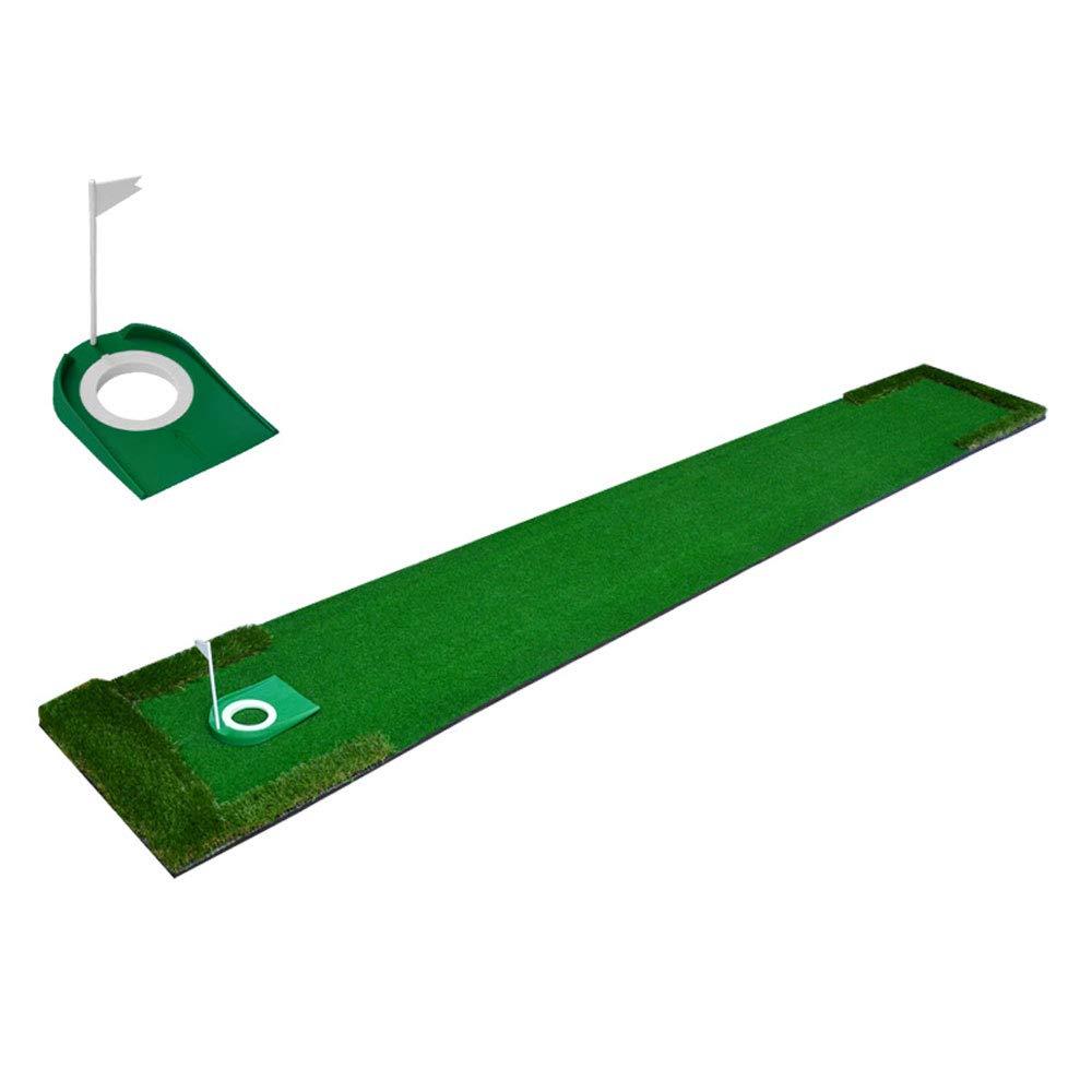 ZB 芝生ゴルフ リアルなフェアウェイ&ラフ  ポータブル運転、チッピング、トレーニングエイズ  裏庭&屋内練習マルチレーンデザイン A+ (色 : A)  A B07JKVJDX4