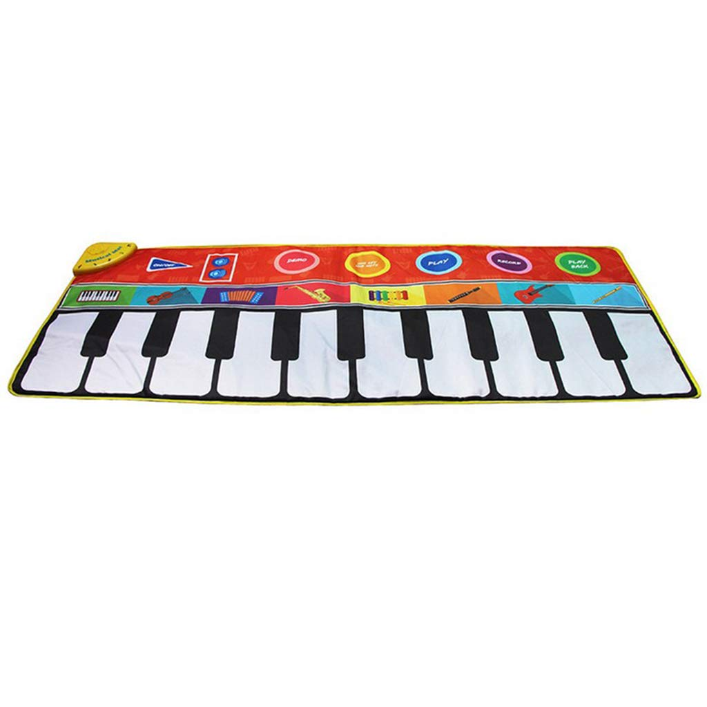 Toygogo Musical Music Piano Play Baby Mat Animal Educational Mat 148x60cm by Toygogo (Image #4)