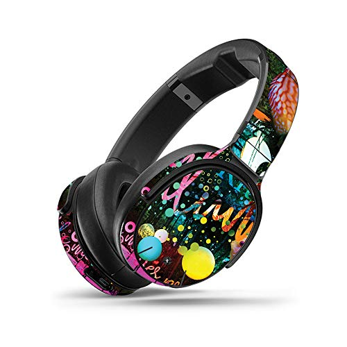 MightySkins Skin for Skullcandy Venue Wireless Headphones - Life Moves Fast | Protective, Durable, and Unique Vinyl Decal wrap Cover | Easy to Apply, Remove, and Change Styles | Made in The USA