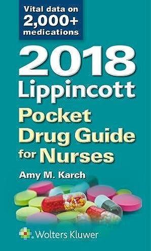 2018 lippincott pocket drug guide for nurses amy m karch msn rn rh amazon com Training Quick Reference Guides Training Quick Reference Guides