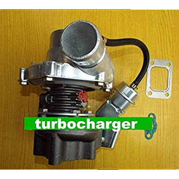 GOWE turbocharger for GT28-5 GT2860 a/r 0.60 a/r .49 T25 5 Bolt oil cooled 180-320hp Internal Wastegate Turbo turbocharger