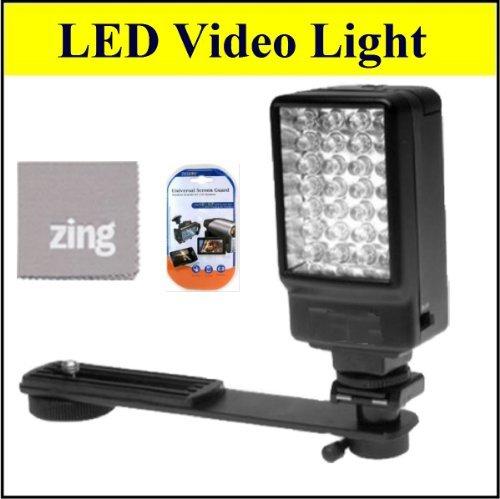 Deluxe 5500K LED Video Light For Sony HDRCX105 HDRCX110 HDRCX115 HDRCX130 HDRCX150 HDRCX550 Camcorder + More!!