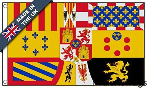 duraflag® Royal estándar de España, Casa de Borbón (1761 – 1931 ...