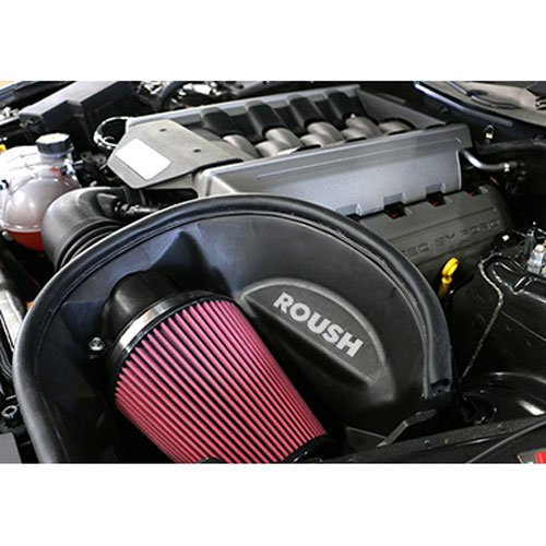 ROUSH 421826 2015-2017 Mustang 5.0 Liter V8 Cold Air - Mustang Ford Intake Kit