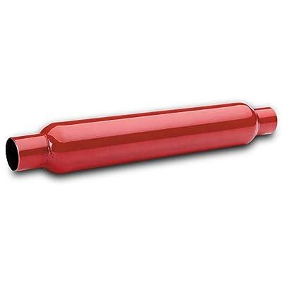 """Flowtech Muffler, 2.25"""" Red Hot Glasspack: Automotive"""