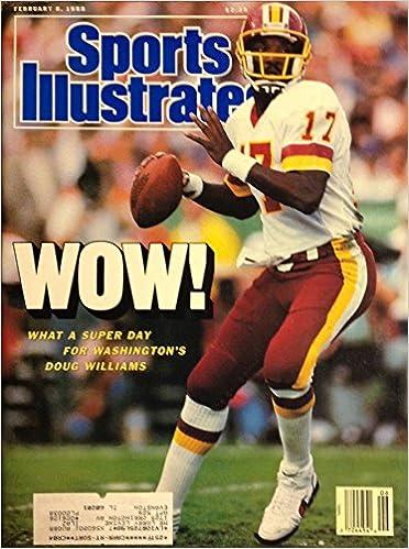Paul Amazon Books 8 Washington Sports Victory com Super Redskins -doug Williams 1988 February Bowl Zimmerman Illustrated