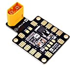 FPVDrone Matek PDB-XT60 Power Distribution Board BEC-5V/2A 12V/0.5A with XT60 Plug for DIY Quadcopter Helicopter