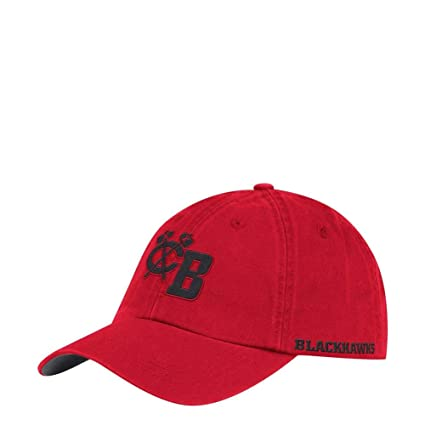 new styles a9f22 29350 Image Unavailable. Image not available for. Color  adidas Chicago  Blackhawks Men s Dad Hat Adjustable Cap