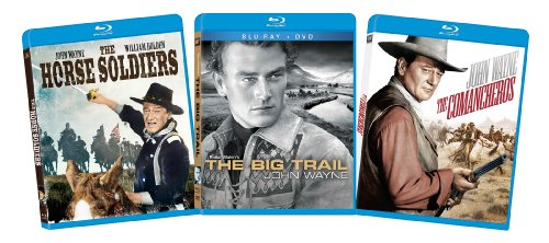 John Wayne Blu-ray Bundle (The Horse Soliders, The Big Trail, The