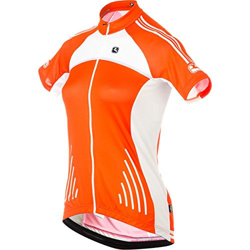 Giordana Silverline Raglan Jersey - Short Sleeve - Women's Orange, M (Jersey Giordana Womens Silverline)