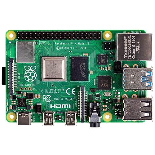 1 Gb Board - Raspberry Pi 4 Model B 2019 Quad Core 64 Bit WiFi Bluetooth (1GB)