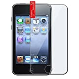 Insten Full Coverage Front LCD Screen Protector Guard Compatible with Apple iPod Touch 1st 2nd 3rd Generation 1 2 3 Gen