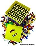 BOX4BLOX Toy Storage Organizer Sorts and Stores Interlocking Plastic Blocks By Size | Compatible with: LEGO, Mega Bloks, K'Nex, Rokenbok, Best-Lock Building Bricks | Made in USA