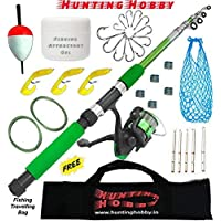 Fishing Spinning Rod,Reel,Accessories Complete Combo (Beginners kit)
