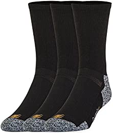 Best Review Men Powerlites Crew Sock 4 Pk 12 Pairslargeshoe Size 9 125 Black