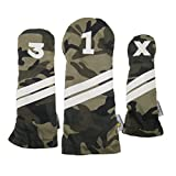 Sunfish camouflage Headcover Set 1-3-X golf headcover military camo army