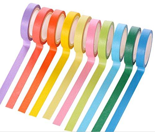 10-rolls-decorative-washi-rainbow-sticky-paper-masking-adhesive-tape-scrapbooking-cards-diy-arts-cra