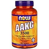 Now AAKG 3500 (L-Arginine-alpha-ketoglutarate) 180 tabs