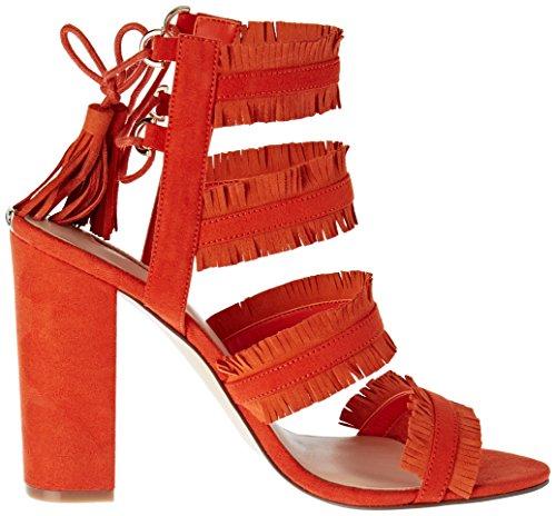 WoMen Econi Orange High Heels Guess Orang Orange Cn4xzaF5qw