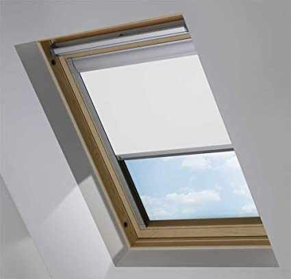 Blackout Roof Skylight Blinds For Velux Ggl Gpl Ghl White 0008 Sys F So6 606 4