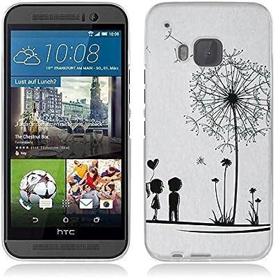 para HTC One M9-Fubaoda-3D Realzar, Moda Patrón, Gel de Silicona ...