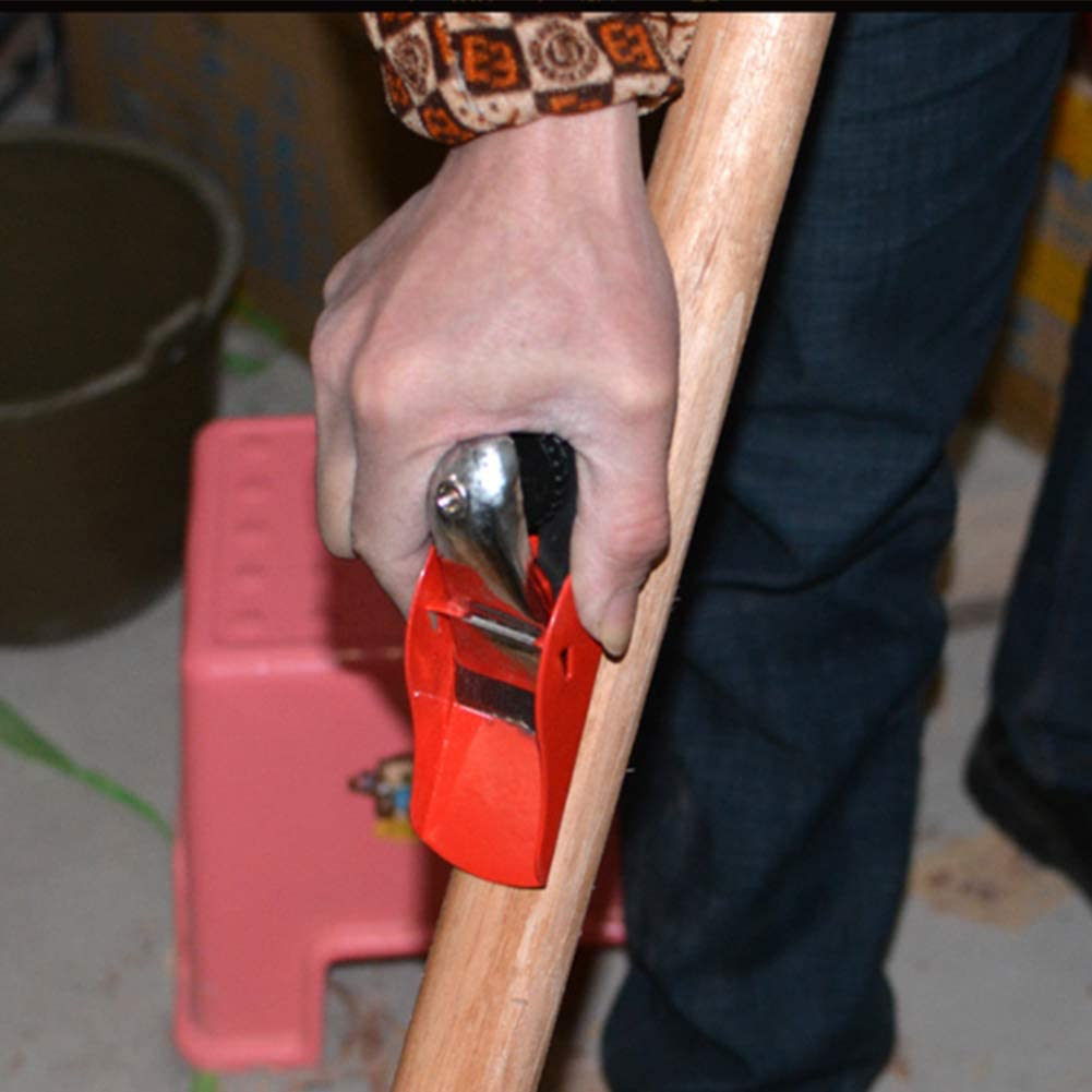 Mini cepilladora de madera 160 mm cepilladora manual para mano de madera Cepilladora port/átil Base plana Plano Herramienta de mano plana Superficie de alisado