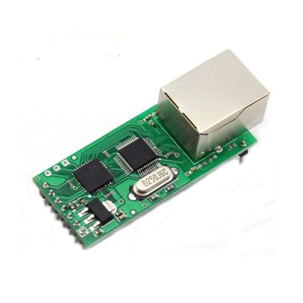 Solu Serial Device Server Module RS232 TTL to Ethernet TCPIP RJ45 Converter w Android// TCP/IP to TTL Module for PLC/MCU UART to Ethernet lan Module//RS232 Serial TTL UART TO Ethernet TCP IP convert adapter Module