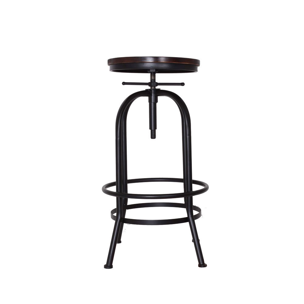 ASVP Shop® Bistro Rustic Vintage Style Bar Stool Burnt Copper