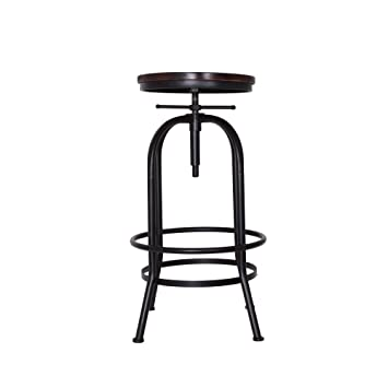 Miraculous Asvp Shop Bistro Rustic Vintage Style Bar Stool Burnt Copper Alphanode Cool Chair Designs And Ideas Alphanodeonline