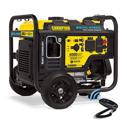 Champion 4000-Watt DH Series Open Frame Inverter with Wireless Remote Start ()
