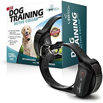 Petronics  Ft Rechargeable Dog Shock Training Collar
