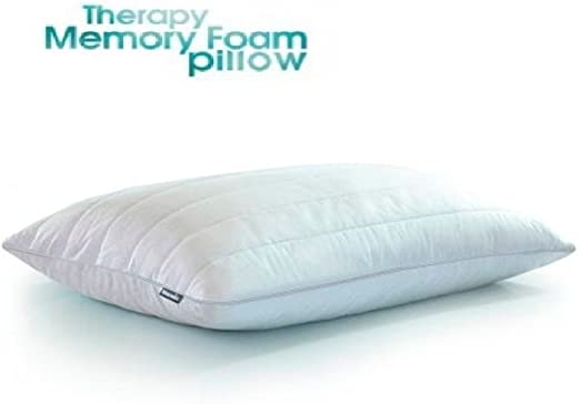 Memo New-Luxury Memoria Espuma Linen Cool Dormir descargable Case- hipoalergénico Antibacterial- Pack de 2: Amazon ...