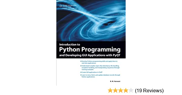 Amazon com: Introduction to Python Programming and Developing GUI