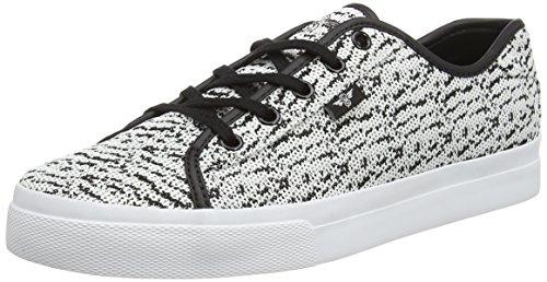 Creative Recreation Herren Kaplan Sneakers Multicolor (White Black Knitted)