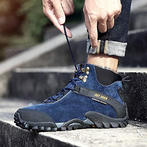 LOVDRAM Stiefel Männer Männer Männer Winter Schnee Martin Stiefel Wasserdichte Outdoor Schuhe Mode Lässig Hohe Schuhe Dicke Warme Herrenschuhe 6fae2b