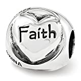 Best Designer Jewelry Sterling Silver Reflections Faith Hope Love Trilogy Bead