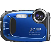 FUJIFILM Digital Camera XP60BL (Blue) 1/2.3-inch 16.4MP CMOS 5x Optical Zoom F FX-XP60BL