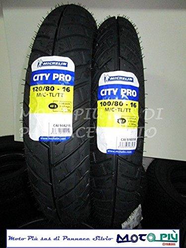 COPPIA GOMME SCOOTER 100/80/16 + 120/80/16 MICHELIN CITY PRO PER HONDA SH KYMCO Michelin_Italia
