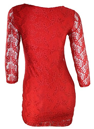 citydress24 - Camisas - para mujer Rojo