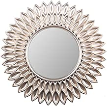 """Wee's Beyond 2857-Champagne Sunflower Decorative Wall Mirror 23.5"""""""
