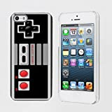 Mobiflare, Slim Clip-on Phone Case, for [iPhone 5/5S] - NES Video Game Controller