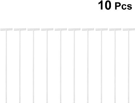 POPETPOP 10 Piezas Pigeon Bobs Trampas-Paloma P/ájaro Trampa de Entrada Ventana de una v/ía Cortina de Puerta Barras de Hierro T